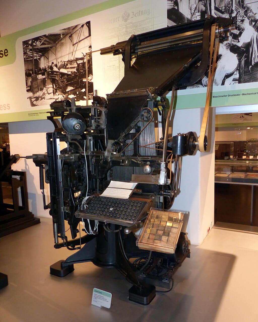 Linotype Simplex 1895