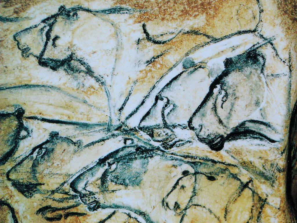 Lions Painting, Chauvet Cave (museum replica)