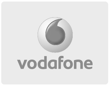 Clients worked with - Vodafone