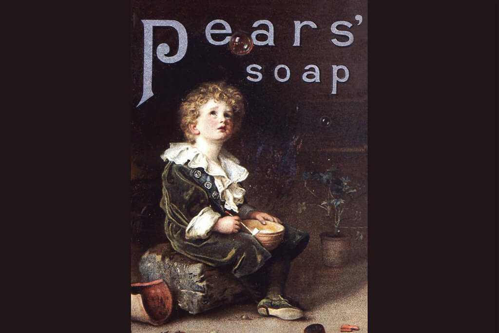 Bubbles by Thomas J. Barratt, managing director of A & F Pears