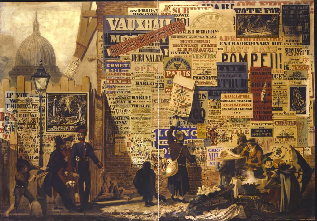 ORLANDO PARRY, 'A LONDON STREET SCENE', 1834, WATERCOLOUR